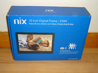 Brand New Nix 10 Inch Digital Frame X10H
