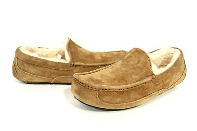 6f5e286dd2b MENS UGG SLIPPERS Ascot Suede Shoes/Slippers Chestnut Warm & Fuzzy ...