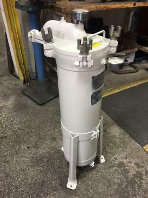 Filtration Systems Mechanical Filter Housing, 150 psi, 300 Degree F, Used