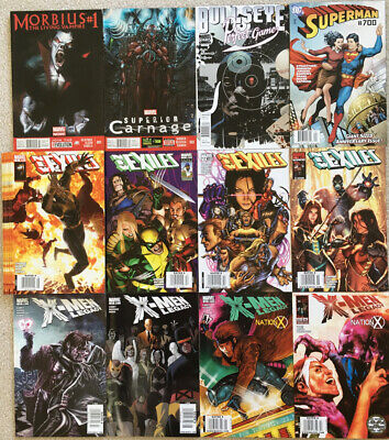 39 Ultra Rare Newsstand issues from 2000s: Morbius Xmen Carnage Superman more