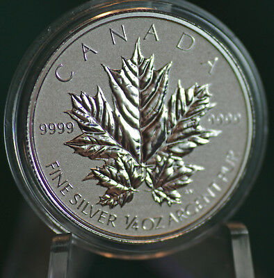 2013 CANADA $3 Silver Maple Leaf 1/4 oz Reverse proof from Fractional set