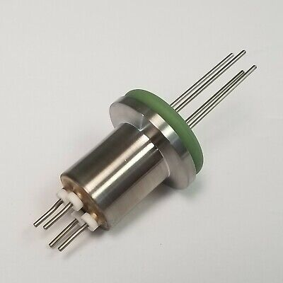 "High Vacuum Feedthrough, 4 Pin, KF16 (1.33"")  Stainless"