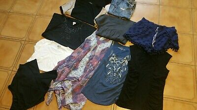 Ladies bulk sz M Clothing tops Shorts Roxy Jeanswest Cue Prettylittlething...#B