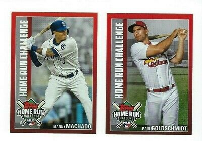 Home Run Challenge Code Complete Your Set 2019 Topps Series 2 You Pick Choice