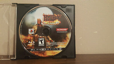 Hellboy: The Science of Evil (Sony PlayStation 3, 2008) DISC ONLY