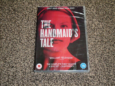 THE HANDMAID'S TALE : COMPLETE FIRST SEASON 1st - 4 DISC DVD SET (FREE UK P&P)