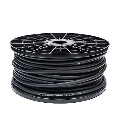8 Awg Gauge Black Power Cable Oversized Wire Cca 5 Metres High Quality 10Mm2