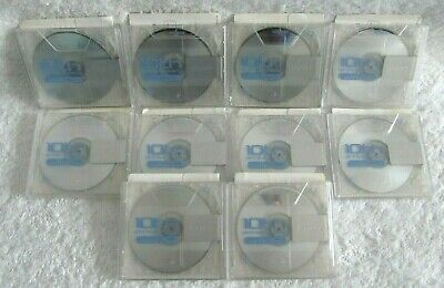 10 Sony 10th ANNIVERSARY COLLECTOR MD 80 Min MiniDisc RECORDABLE USED Inc Cases