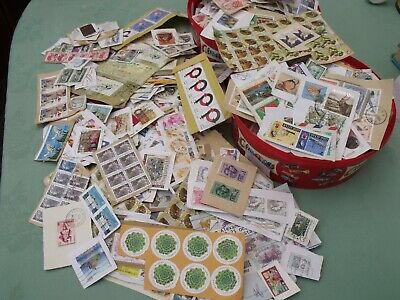 commonwealth and world kiloware stamps 320g lot see photos