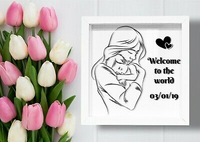 ✅PROFESSIONAL Present Frame Box  With Glass Gift For Niece Birth Birthday✅
