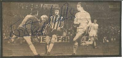Football Autograph Eric Steele Brighton FC Signed Newspaper Photograph F1033