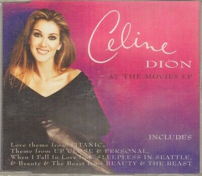CELINE DION At The Movies EP CD Single