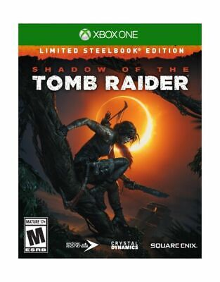 Xbox One : Shadow of the Tomb Raider (Limited Steel VideoGames