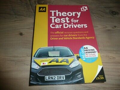 Aa Theory Test Book For Car Drivers Questions And Answers