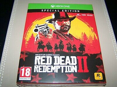 Red Dead Redemption 2 Special Edition  Xbox One **New & Sealed**