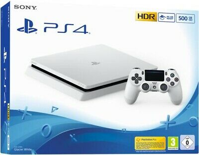 Sony PlayStation 4 Slim 500GB Konsole - weiss