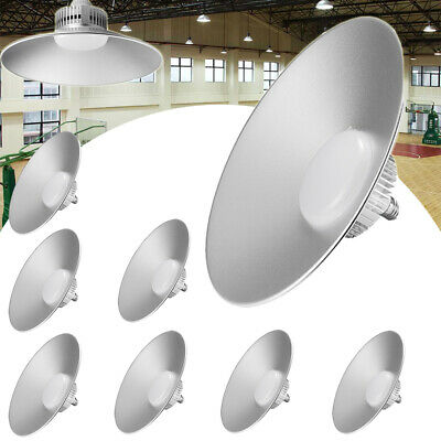 8 x 70W LED High Bay Light Cool White GYM Warehouse Factory Workshop Lamp Bright