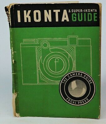 Vintage Focal Press Guide to Zeiss Ikon Ikonta & Super Ikonta. Complete, Tatty