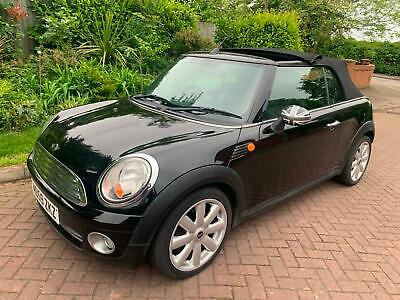2010 Mini 1.6 ( 120bhp ) Cooper CABRIOLET SOFT TOP ELECTRIC ROOF chili pack