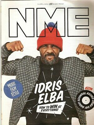 NME Magazine 15 April 2016 - Idris Elba/PJ Harvey/Bill & Ted