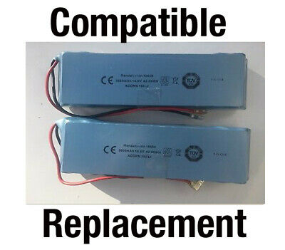 2 x Acorn/Brooks Curved 80 and 180 Stairlift Batteries Replacement Lithium