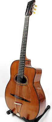 old gypsy jazz guitar-  SONORA -  ancienne guitare manouche