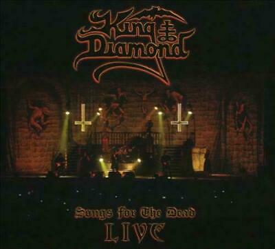 Songs For The Dead Live KING DIAMOND  CD + 2 DVD
