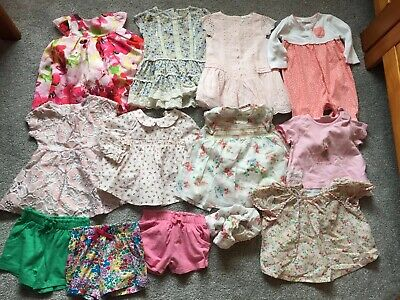 Next Baby Girls 3-6 Month summer Bundle Dresses Shorts Tops