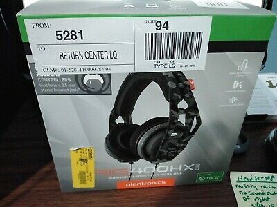 Plantronics RIG 400HX Over-Ear Gaming Headset for Xbox One - Camo *Headset # 8*