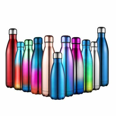 17OZ Vacuum Insulated Water Bottle Thermos Double Wall Stainless Steel Bottle