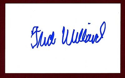 Fred Willard Actor 'Everybody Loves Raymond' Signed 3x5 Index Card C15435