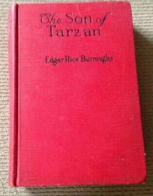 Antique March 1917 Book THE SON OF TARZAN By Edgar Rice Burroughs
