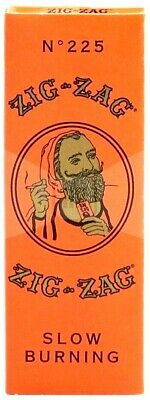 Zig Zag Orange 1 1/4 Rolling Papers Slow Burning - USA Shipper, Great Price!