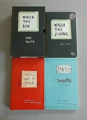 Keri Smith Wreck This Box (Wreck This Journal/This Is Not A Book/Mess) Brand New