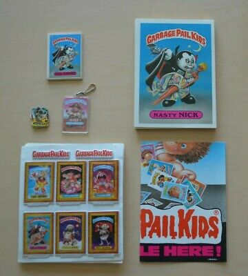 a3430ce57 OS Garbage Pail Kid Puffy Stickers, Poster, Keychain, Mini Cards, Oversize  Cards