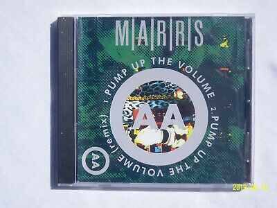 MARRS - Pump Up The Volume (CD Single, 1998, 4AD) **NICE CONDITION**