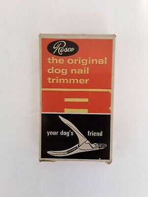 Vintage Resco Nail Trimmer for Dog's in Original Box. Made in USA!