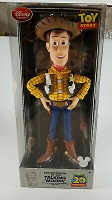 Disney Store D23 Limited Edition Toy Story 20th Anniversary Talking Woody Doll