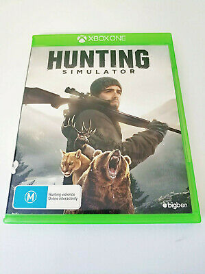 Mint Disc Xbox One Hunting Simulator Free Postage