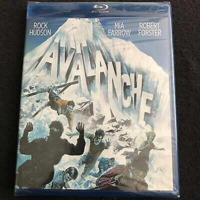 Avalanche 1978 (Blu-ray, 2014) Roger Corman, Disaster, Action, Rock Hudson