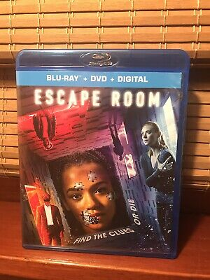 Escape Room - Blu-ray + DVD + Digital - 2019 Thriller Release