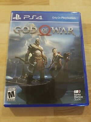 God of War (PlayStation 4, PS4) Great Condition