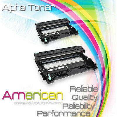 2PK Drum Cartridge for DR420 Brother MFC-7360N MFC-7460DN MFC-7860DW Printer