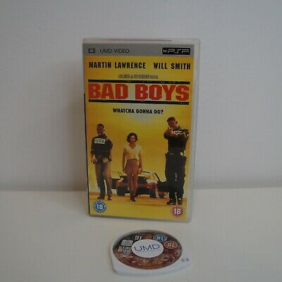 Bad Boys UMD Movie Sony PSP - Cover Variant Movie | Aus + FREE POST