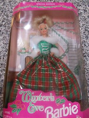 NIB  Barbie Winters Eve Special edition Brand New