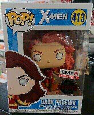 Funko POP! Marvel X-Men Dark Phoenix (Flame Wings) EMP/HOT TOPIC Exclusive
