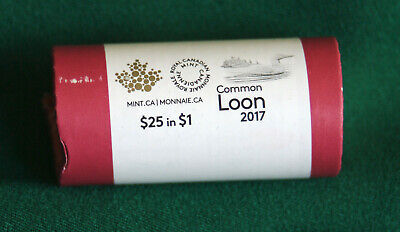 2017 CANADA Classic design Loonie roll special wrap: extra rolls + SH $2.99