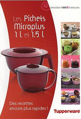 Tupperware - Collection 1000 & 1 astuces : Les pichets Microplus / MicroCook