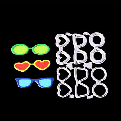 Beach sunglasses Metal Cutting Dies Stencil for DIY Scrapbooking Album Cards KY
