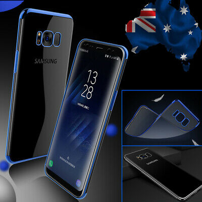 For Samsung Galaxy S7 S7 Edge Slim Transparent Ultra Clear Case Fashion Cover